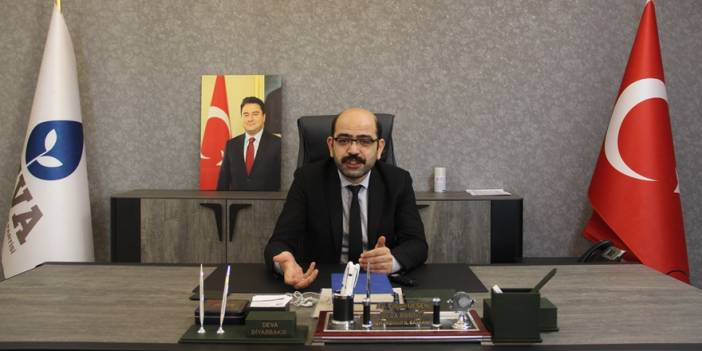 VİDEO - DEVA Partisi Diyarbakır İl Başkanı: İktidar sandıktan korkuyor
