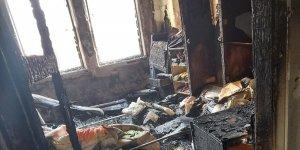 'Diyarbakır'da DEDAŞ'ın ihmali sonucu bir ev yandı'
