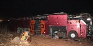 Şanlıurfa'da otobüs devrildi: 1 ölü, 31 yaralı