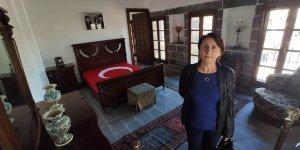 Diyarbakır'da 5 yıldır kapalı olan Atatürk'ün evi açıldı