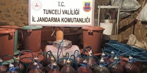 Tunceli'de sahte içki operasyonu