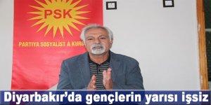 Diyarbakır'da gençlerin yarısı işsiz