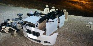 VİDEO - Diyarbakır'da hacizli otomobili parçalayıp satmışlar