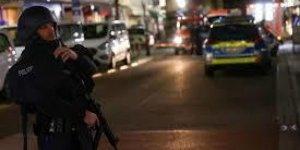 Berlin'de silahlı çatışma