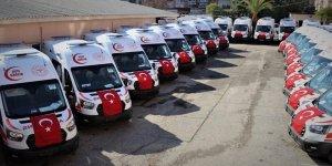 Sağlık Bakanlığı Şanlıurfa'ya 38 yeni ambulans gönderdi