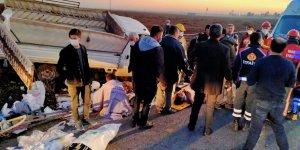 Mardin'de kaza, çok sayıda yaralı var