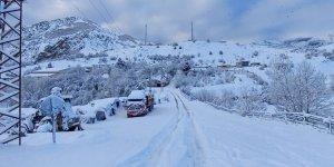 Dersim'de 132 köy yolu ulaşıma kapandı