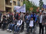 Bitlisli engellilerden farkıdanlık yürüyüşü