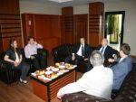 Siirt STSO yönetim kurulundan belediye'ye ziyaret