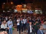 Hakkari'deki olaylar Yüksekova'da protesto edildi