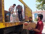 Çukurca'dan şengalli mültecilere yardım