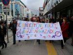 Van'da kadınlar şiddete karşı 'tek ses' oldu