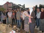 Tunceli'de Kobane İçin Mumlu Eylem