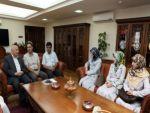 Sare Davutoğlu 'Çocuklar Sokakta Solmasın' sergisinin açılışını yaptı