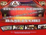 Bitlis Belediyesi, 10-15 yaş arası çocuklara dönük ücretsiz tiyatro kursu başlatacak.