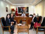 TÜRK AMERİKA İŞ KADINLARI DERNEĞİ'NDEN KAYMAKAM HAMZA ERKAL'A ZİYARET