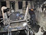 Şanlıurfa'da tekstil atölyesinde yangın