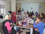 Tatvan'da el sanatları kursuna yoğun ilgi