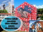 Fransız sokak sanatçısı sıkıcı binaları sanata dönüştürüyor