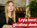 Cizre'nin görevden alınan Belediye Eşbaşkanı İmret gözaltına alındı