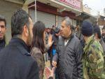Cizre'de HDP'li vekiller Cudi Mahallesi'ne girmeye çalışıyor