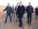 ŞIRNAK VALİSİ SİLOPİ'DE İNCELEMEDE BULUNDU
