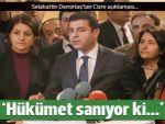 Demirtaş: Cizre'nin hesabı sorulacak