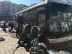 Yolculardan arıza yapan otobüs için seferberlik