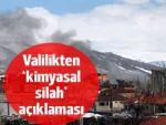 HDP'li vekillerin 'kimyasal silah' iddiası için açıklama