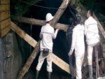 Açlık grevindeki madencilerin eylemi 11'inci günde sona erdi