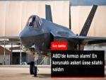 ABD'de Askeri Hava Üssünde Silahlı Saldırı Alarmı! Üs Giriş-Çıkışa Kapatıldı