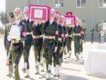 Mardin şehitleri için uğurlama töreni