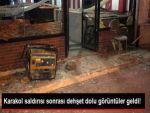 Van'da 2 Nisan Karakolu'na Yapılan Saldırıdan İlk görüntüler