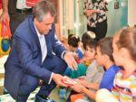 Eş Başkan Anlı, çocuklara itfaiyeyi tanıttı