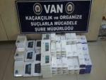 Van'da kaçak cep telefonu operasyonu