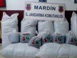 Mardin'de 280 kilogram kaçak çay ele geçirildi