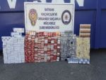 108 bin TL değerinde kaçak sigara ele geçirildi