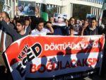 İdlib'teki saldırı Batman'da protesto edildi