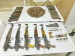 Şırnak'taki operasyonda silah ve mühimmat ele geçirildi
