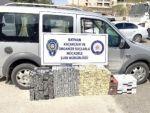 Batman'da bin 785 paket kaçak sigara ele geçirildi