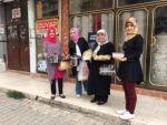 AK Parti Kadın Kolları üyeleri yoksulların sofrasına konuk oldu