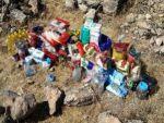 Dargeçit'te 12 lojistik sığınak bulundu