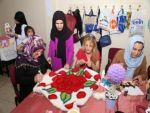 Kanser hastası kadınlar el sanatları ile moral buluyor