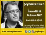 Yazarımız Şeyhmus DİKEN'in İmza Günü