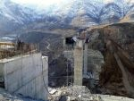 Türkiye'nin en büyük viyadük asma köprüsü çöktü