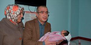 Diyarbakır'da yılın ilk bebeği Suriyeli