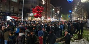 Diyarbakır'da renkli yeni yıl kutlaması