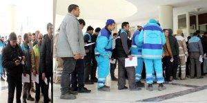 Şanlıurfa'da taşeron işçilerin 'sabıka kaydı' kuyruğu