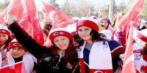 Diyarbakır'da Sarıkamış şehitleri için yürüyüş