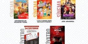 Sinema ve tiyatro günlerinin Şubat ayı programı belirlendi